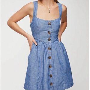 Free People denim mini Dress